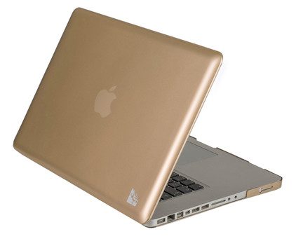 Gecko Covers Hardshell Case MacBook Pro 15'' Goud
