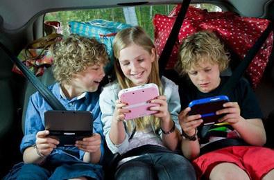 Handhelds op de achterbank