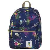 100% Sugar Sweet Backpack Blue Tropical