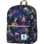 100% Sugar Sweet Double Backpack Blue Tropical