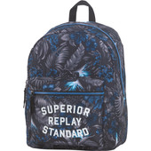 Replay Boys Backpack Blue Hibiscus