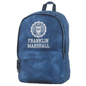 Franklin & Marshall Boys Double Backpack Vintage Blue