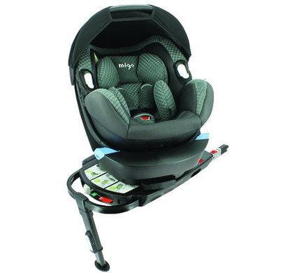 Migo Satellite + Solar Isofix Base Grey