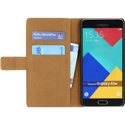 Mobilize Classic Wallet Book Samsung Galaxy A5 (2016) Wit