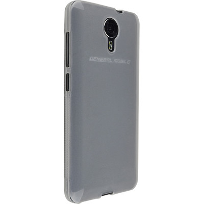 General Mobile Android One 4G TPU Case Transparant