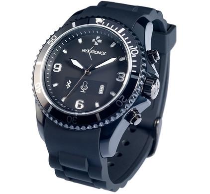 MyKronoz Smartwatch ZeClock - zwart