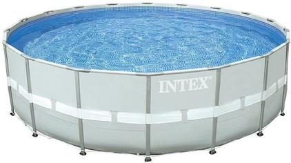 Intex ultra frame 427 x 107 cm met filterpomp coolblue for Filterpomp zwembad intex