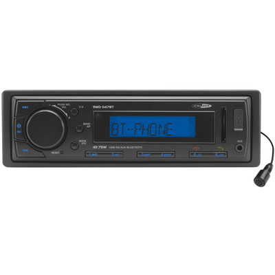 Image of Caliber Audio Technology RMD 047BT Autoradio enkel DIN 4 x 75 W Bluetooth, USB, SD, Jackplug