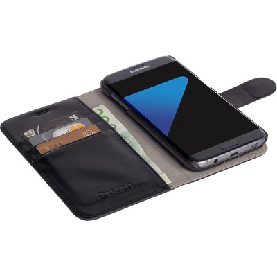 Krusell Ekero Wallet Samsung Galaxy S7 Edge Zwart