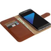 Krusell Ekero Wallet Samsung Galaxy S7 Edge Bruin
