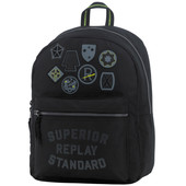 Replay Boys Backpack Black Solid