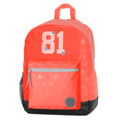 Replay Stars Girls Double Backpack Coral Stars