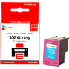 Huismerk HP 302 Cartridge 3-Kleuren XL (Pixeljet - F6U67AE)