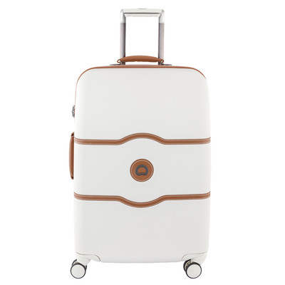 Image of Delsey Châtelet Hard+ 4 Wheel Trolley Case 67 cm White