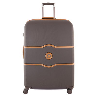 Image of Delsey Châtelet Hard+ 4 Wheel Trolley Case 77 cm Brown