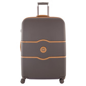 Delsey Châtelet Hard+ 4 Wheel Trolley Case 77 cm Brown