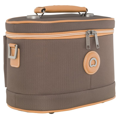 Image of Delsey Châtelet Soft+ Tote Beauty Case Brown