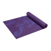 Gaiam Deep Plum Surf Yoga Mat 3mm