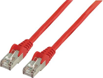 Valueline Netwerkkabel UTP CAT5e 1,5 meter Rood