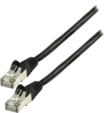 Valueline Netwerkkabel FTP CAT6 1,5 meter Zwart