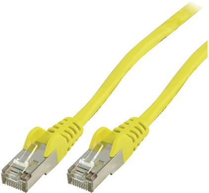 Valueline Netwerkkabel UTP CAT5e 1,5 meter Geel