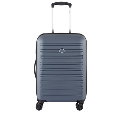 Delsey Segur SLIM 4 Wheel Cabin Trolley Case 55 cm Blue