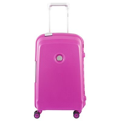 Image of Delsey Belfort Plus 4 Wheel Cabin Trolley 55 cm Pink