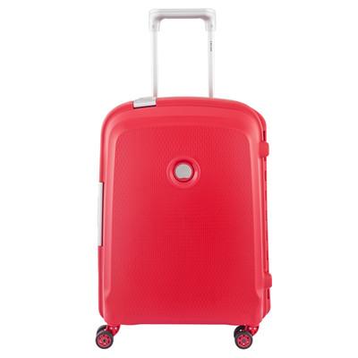 Image of Delsey Belfort Plus SLIM 4 Wheel Cabin Trolley 55 cm Red