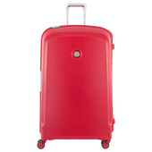 Delsey Belfort Plus 4 Wheel Trolley Case 82 cm Red