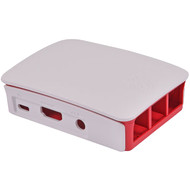 Raspberry Pi Case 3 B 2 B Rood Wit