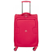 Delsey Tuileries 4 Wheel Cabin Trolley Case 55 cm Red