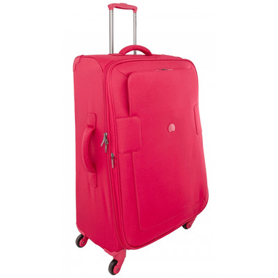 Delsey Tuileries 4 Wheel Expandable Trolley Case 77 cm Red
