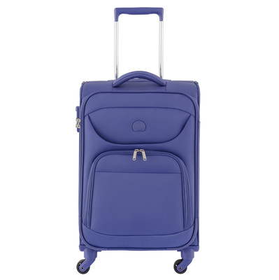 Delsey Lazare 4 Wheel Trolley Case 55 cm Blue