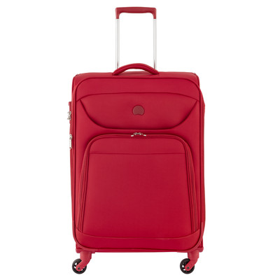 Delsey Lazare Trolley 4 Wheel 68 Expandable Red