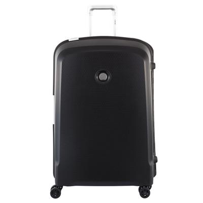 Image of Delsey Belfort Plus 4 Wheel Trolley Case 76 cm Black