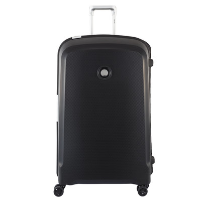 Image of Delsey Belfort Plus 4 Wheel Trolley Case 82 cm Black