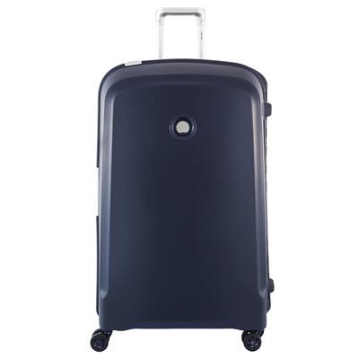 Image of Delsey Belfort Plus 4 Wheel Trolley Case 82 cm Darkblue