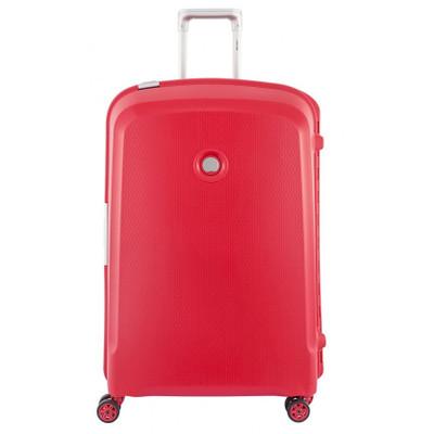 Image of Delsey Belfort Plus 4 Wheel Trolley Case 76 cm Red