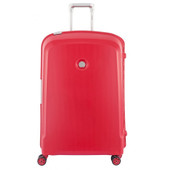 Delsey Belfort Plus 4 Wheel Trolley Case 76 cm Red
