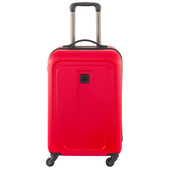 Delsey Epinette 4 Wheel Cabin Trolley Case 55 cm Red