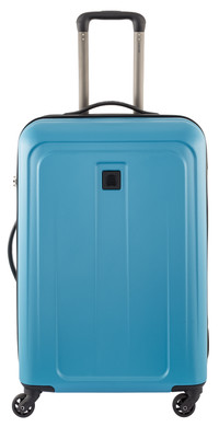 Delsey Epinette 4 Wheel Trolley Case 68 cm Blue