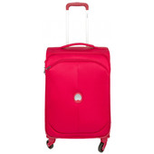 Delsey U-Lite Classic 4 Wheel Trolley Case 55 cm Red