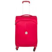Delsey U-Lite Classic 4 Wheel Trolley Case 55 cm Red