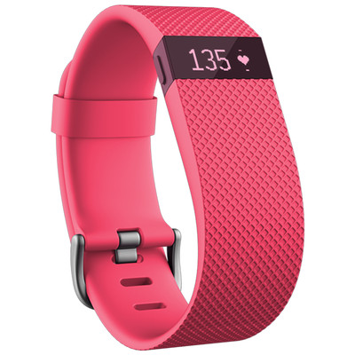 Image of Fitbit Charge HR activiteitsmeter - roze - small