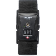 Delsey Travel Necessities Luggage Strap (USA) Black