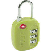 Delsey Travel Necessities TSA 3-Digit Padlock (USA) Lime