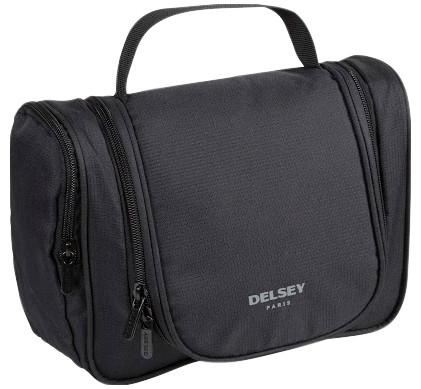 Delsey Travel Necessities Hanging Wet Pack M Black