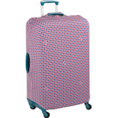 Delsey Travel Necessities Suitcase Cover L/XL Blue/White/Red