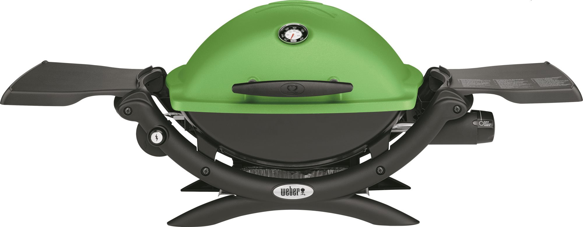 Gas barbecues Weber Q1200 Green
