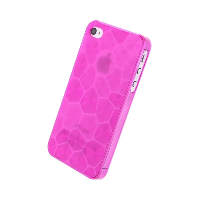 Xccess Honeycomb Cover Apple iPhone 4 4S Roze